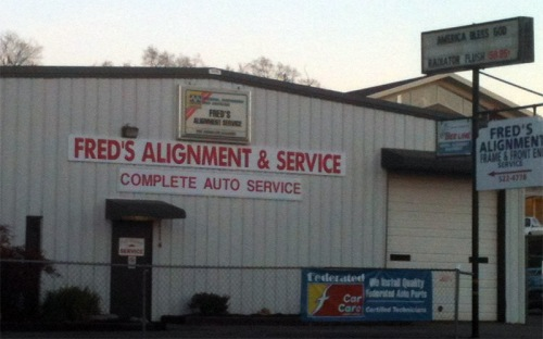 Fred's Alignment