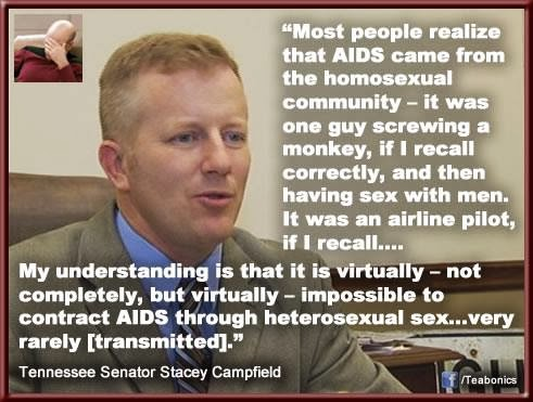 Tennessee state Senator Stacey Campfield