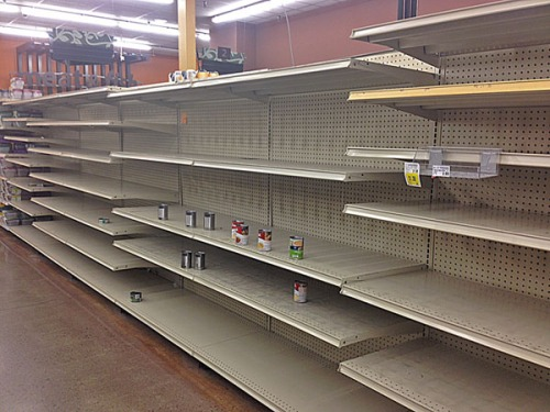 And the retailers were nestled all snug in their beds,  with visions of empty shelves dancing in their heads.