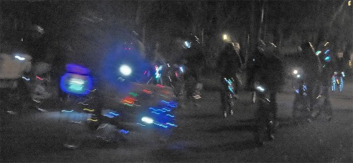 Some of the other night riders.