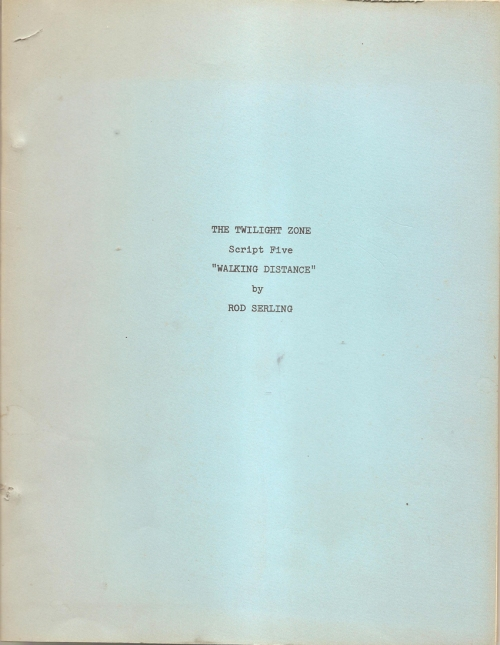 Front cover of the facsimile script.