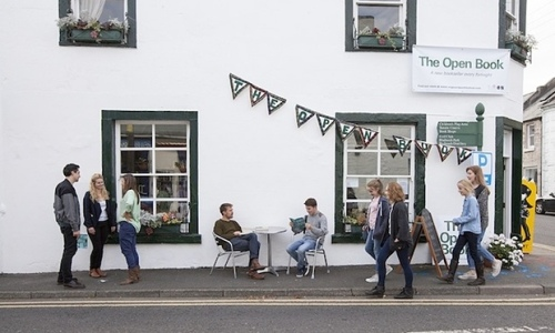 The Open Book in Wigtown, Scotland