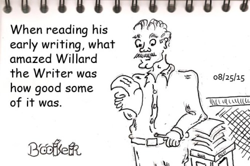 Reading the writing led Willard to wonder what went wrong.
