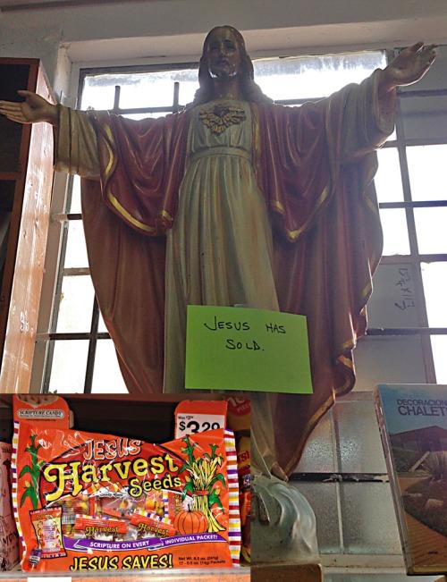 "Jesus and ""Harvest Seeds."""