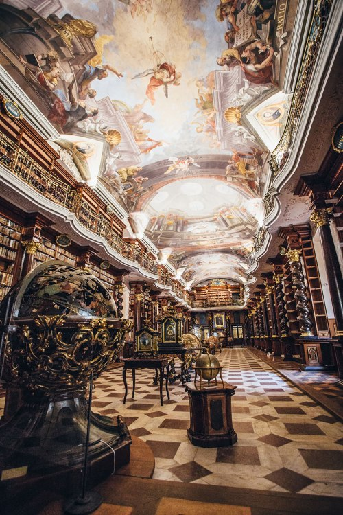 The Klementinum library