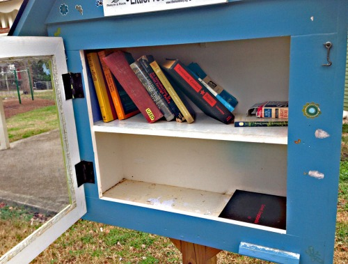 This holiday season, consider donating books you've read to the Little Free Library in your neighborhood.