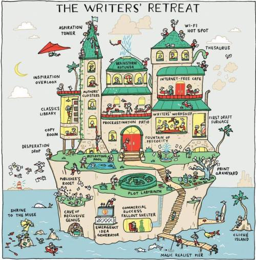 humor writers retreat