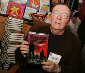 Author James Patterson would like you to read.