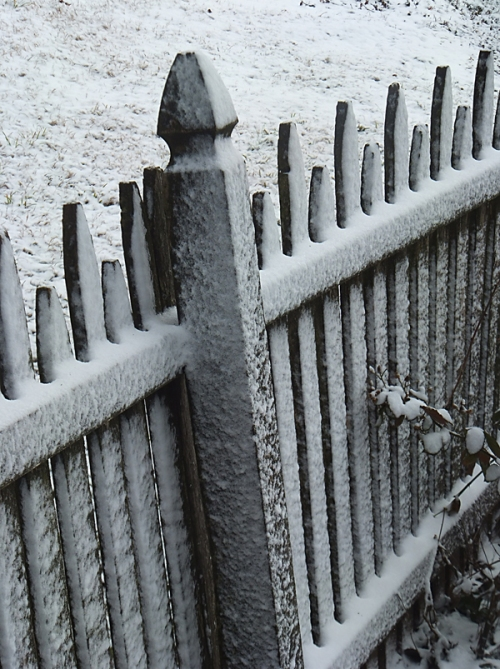 Winter can never be fenced in.