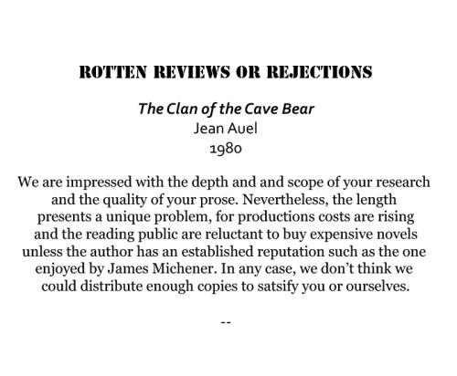 ClanofCaveBear_rejection_1980 copy