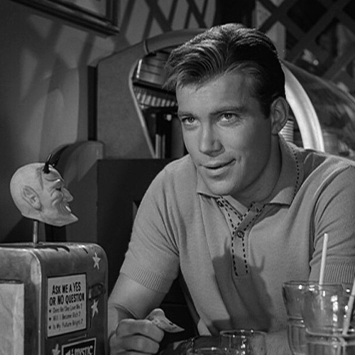 William Shatner in Twilight Zone episode