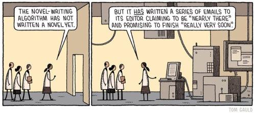 novel-writing algorithm computer