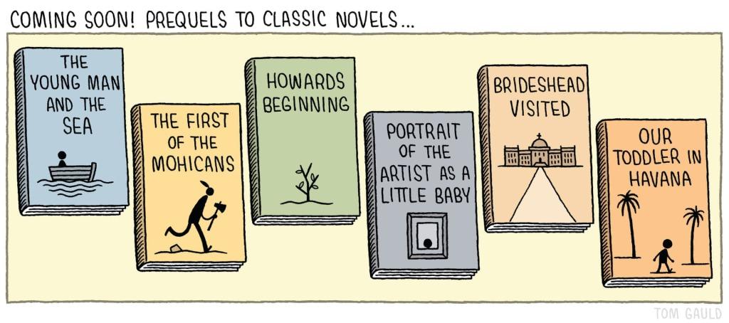 prequel novel proposals
